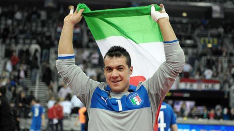 Come si allena il portiere di calcio a 5 Stefano Mammarella?