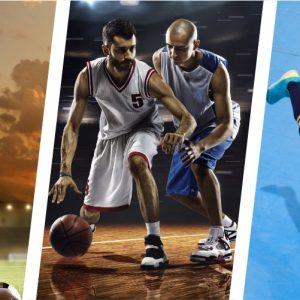 Allenamento forza calcio basket e futsal