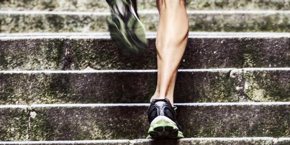 Corridore muscoli e tendini