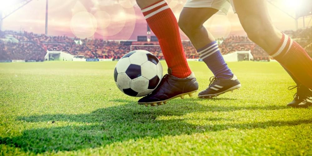 Giocatori di calcio piede
