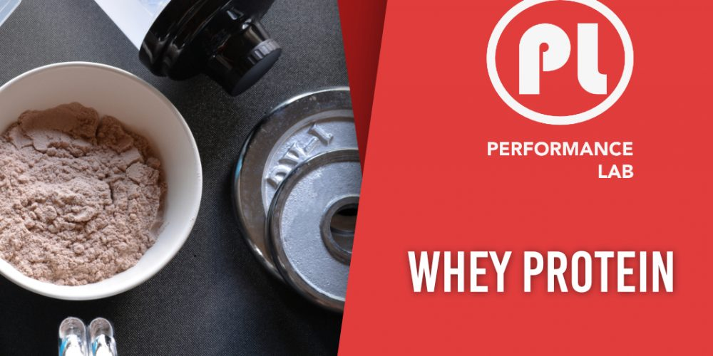 Le whey protein_PerformanceLab