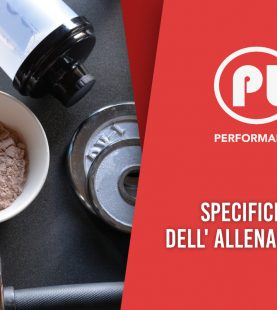 Specificità dell'allenamento