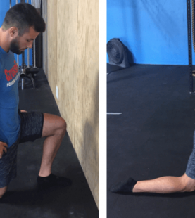 Ankle mobility training