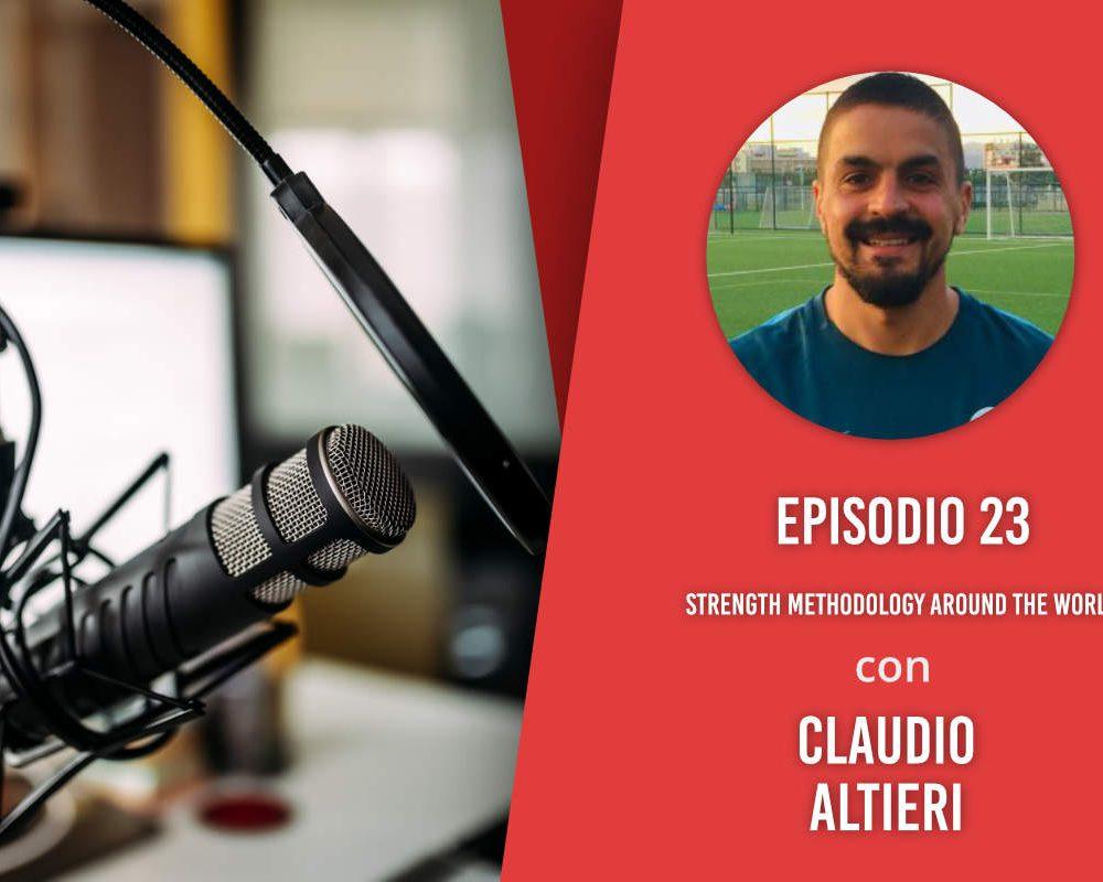 Strength Methodology Around the World – Intervista a Claudio Altieri